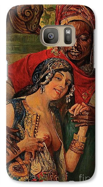 Galaxy Case featuring the painting Orientalisches Paar  by Pg Reproductions