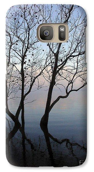 Galaxy Case featuring the photograph Original Dancing Tree by Paula Guttilla