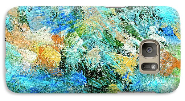 Galaxy Case featuring the painting Orinoco by Dominic Piperata