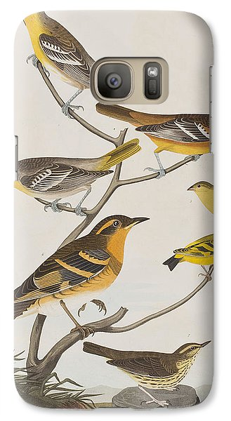 Orioles Thrushes And Goldfinches Galaxy S7 Case