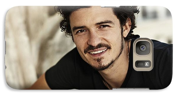 Orlando Bloom Galaxy S7 Case - Orlando Bloom by Dorothy Binder