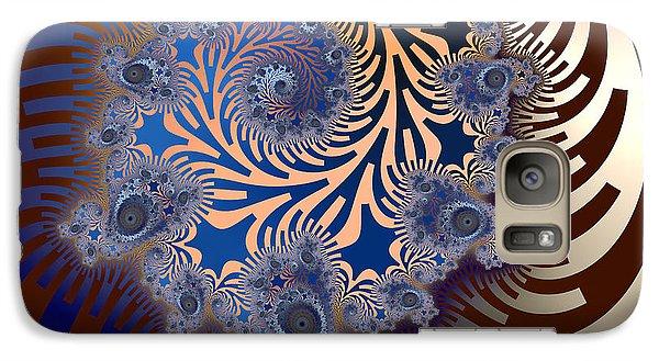 Galaxy Case featuring the digital art Ornamental by Karin Kuhlmann