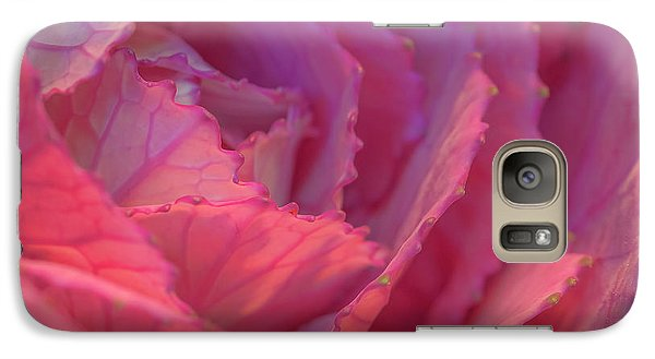 Galaxy Case featuring the photograph Ornamental Pink by Roy McPeak