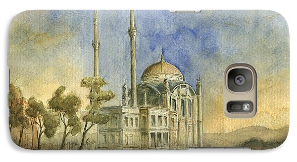 Turkey Galaxy S7 Case - Ortakoy Mosque Istanbul by Juan Bosco