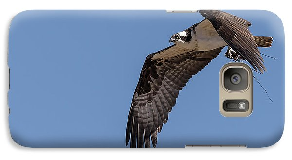 Galaxy Case featuring the photograph Osprey 2017-1 by Thomas Young