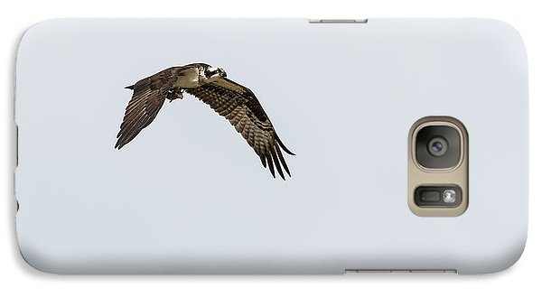Galaxy Case featuring the photograph Osprey 2017-2 by Thomas Young