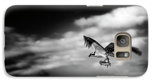 Galaxy Case featuring the photograph Osprey Catch Of The Day by Chrystal Mimbs