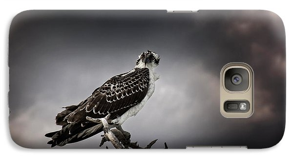 Galaxy Case featuring the photograph Osprey by Chrystal Mimbs