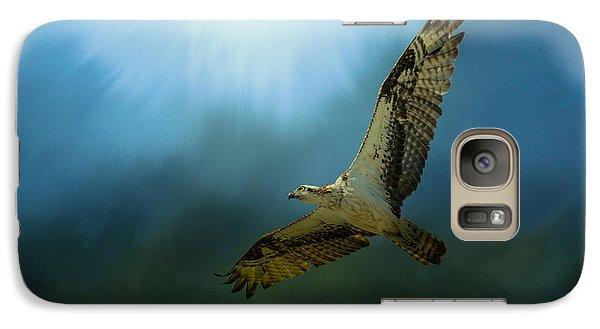 Osprey In The Evening Light Galaxy S7 Case by Jai Johnson