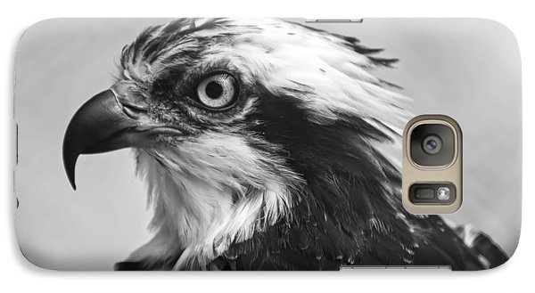 Osprey Monochrome Portrait Galaxy S7 Case