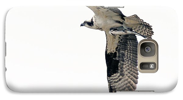 Galaxy Case featuring the photograph Osprey With Fish by Stephen  Johnson