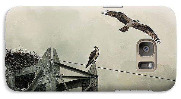 Ospreys At Pickwick Galaxy S7 Case