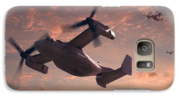 Helicopter Galaxy S7 Case - Ospreys In Flight by Mike McGlothlen