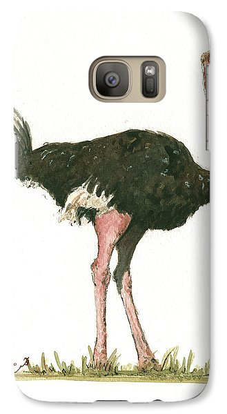 Ostrich Bird Galaxy S7 Case