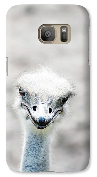 Ostrich Galaxy S7 Case by Lauren Mancke