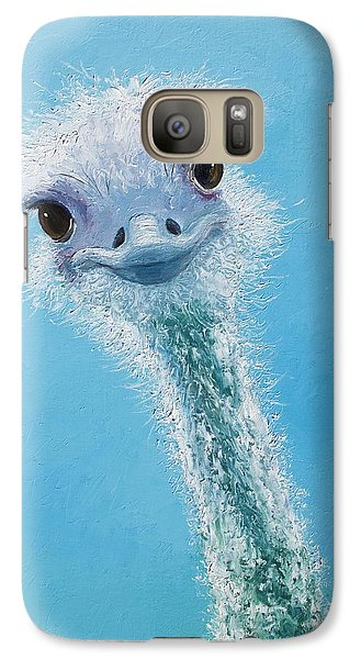 Ostrich Painting Galaxy S7 Case