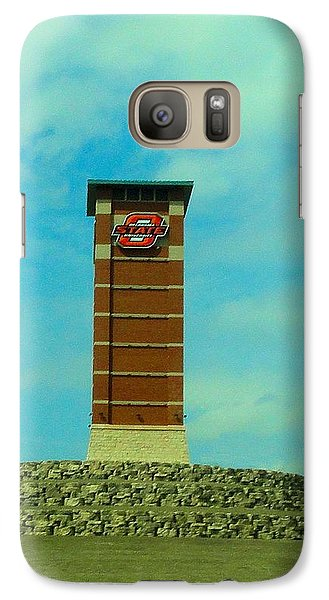 Oklahoma State University Gateway To Osu Tulsa Campus Galaxy S7 Case by Janette Boyd