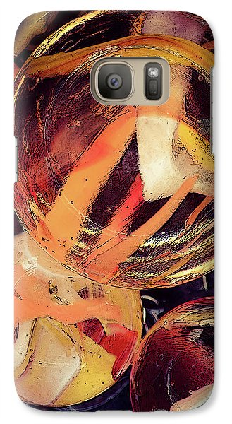 Galaxy Case featuring the photograph Other Worlds II by Shelly Stallings