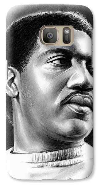Rhythm And Blues Galaxy S7 Case - Otis Redding by Greg Joens