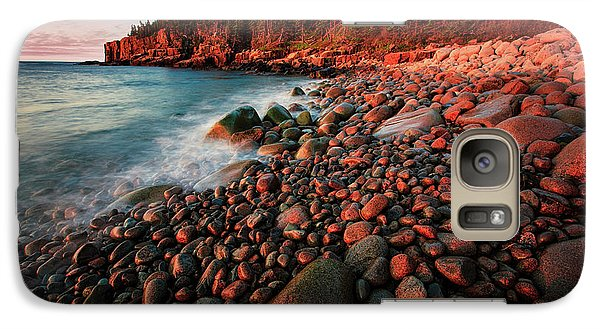 Galaxy Case featuring the photograph Otter Beach Main After The First Light  by Emmanuel Panagiotakis