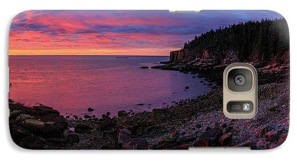 Galaxy Case featuring the photograph Otter Beach Maine Sunrise  by Emmanuel Panagiotakis