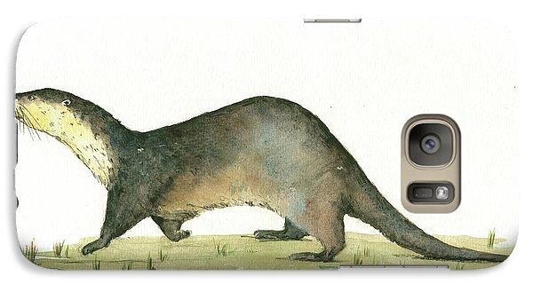 Otter Galaxy S7 Case by Juan Bosco