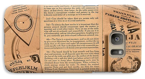 Galaxy Case featuring the photograph Ouija by Steve Sperry