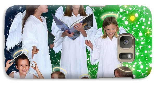 Galaxy Case featuring the painting Our 2015 Angel Choir by Doug Kreuger