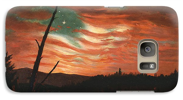 Our Banner In The Sky Galaxy Case by Frederic Edwin Church