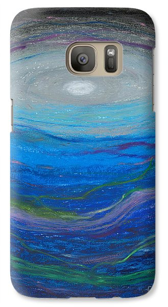 Galaxy Case featuring the pastel Our Freindship Runs Deep by Ania M Milo