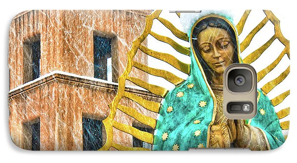 Galaxy Case featuring the photograph Our Lady Of Guadalupe by Britt Runyon