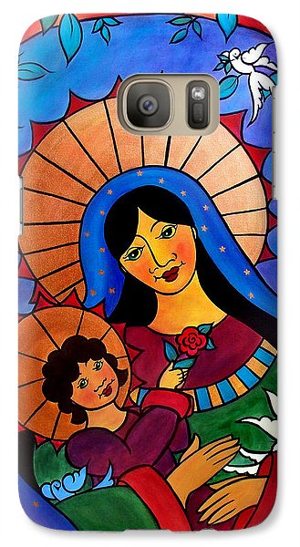 Our Lady Of The Garden Galaxy S7 Case