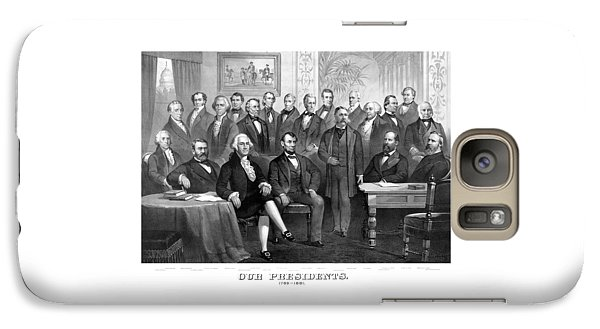 Our Presidents 1789-1881 Galaxy S7 Case by War Is Hell Store