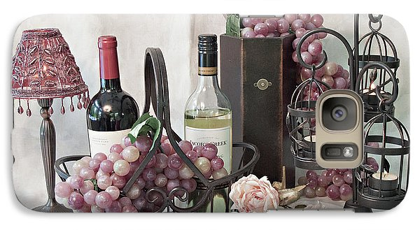 Galaxy Case featuring the photograph Our Wine Cellar by Sherry Hallemeier