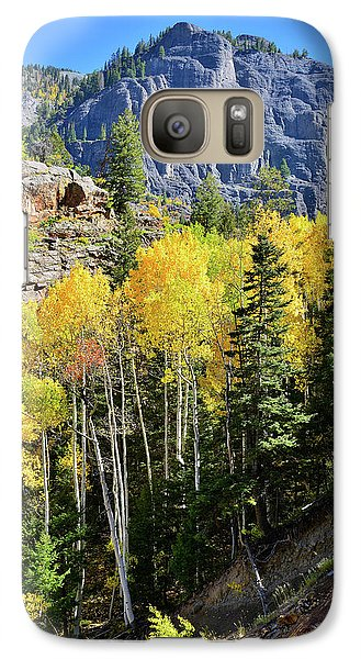 Galaxy Case featuring the photograph Ouray Aspens by Ray Mathis