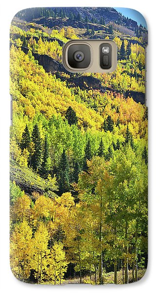 Galaxy Case featuring the photograph Ouray Canyon Switchbacks by Ray Mathis