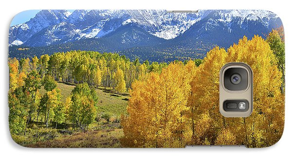 Galaxy Case featuring the photograph Ouray County Road 8  by Ray Mathis