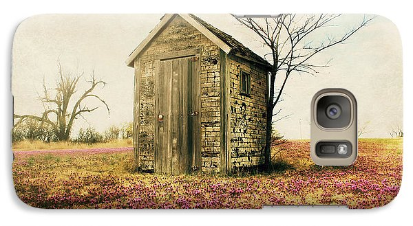 Galaxy Case featuring the photograph Outhouse by Julie Hamilton