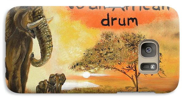 Galaxy Case featuring the painting Out Of Africa by The GYPSY And DEBBIE