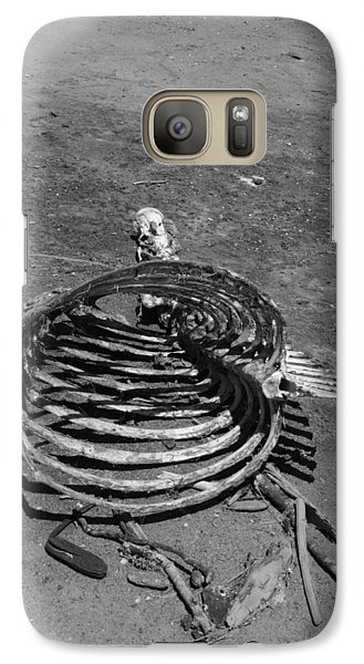 Galaxy Case featuring the photograph Out Of Control by Marie Neder