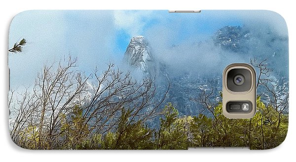 Galaxy Case featuring the photograph Out Of The Mist by Glenn McCarthy Art and Photography