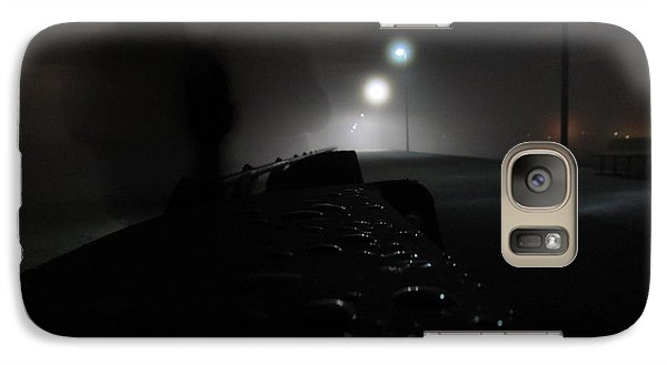 Galaxy Case featuring the photograph Out Of The Mist by Digital Art Cafe