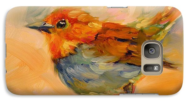 Galaxy Case featuring the painting Out On A Limb by Chris Brandley