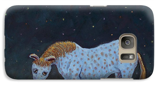Pasture Galaxy S7 Case - Out To Pasture by James W Johnson