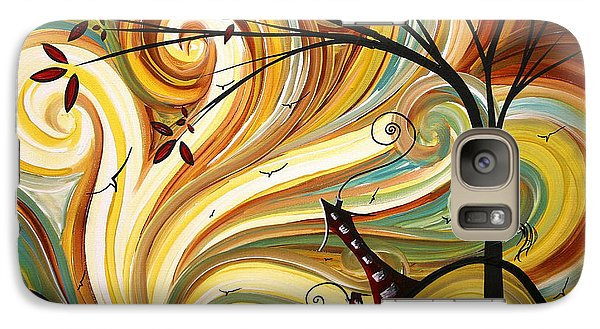 Landscapes Galaxy S7 Case - Out West Original Madart Painting by Megan Duncanson