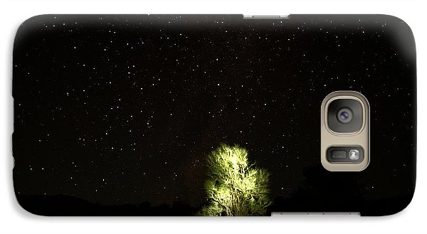 Galaxy Case featuring the photograph Outback Light by Paul Svensen