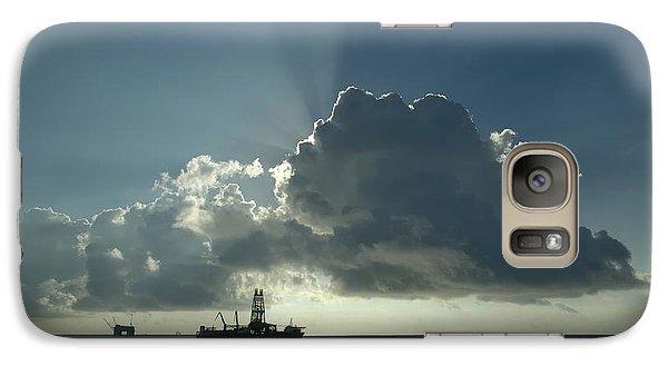 Outer Continental Shelf Oilfield  Galaxy S7 Case
