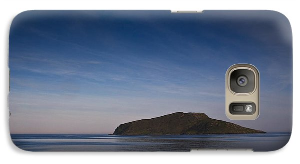 Galaxy Case featuring the photograph Outer Hebrides In Sunset by Gabor Pozsgai