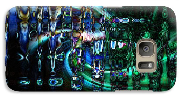 Galaxy Case featuring the photograph Outer Zone by Cherie Duran