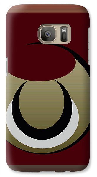 Galaxy Case featuring the digital art Outside The Box by John Krakora